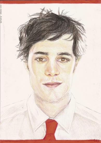 Adam Brody by crayon2papier